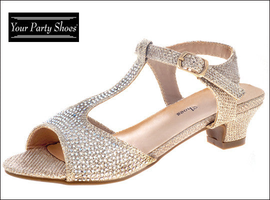 Girls Pageant Shoe- Holly