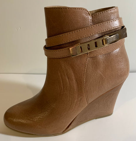 Wedge Brown Boot