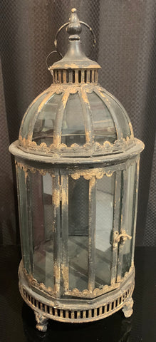 Metal & Glass Lantern