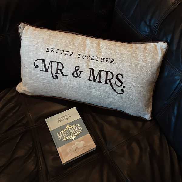 Mr & Mrs Better Together Pillow