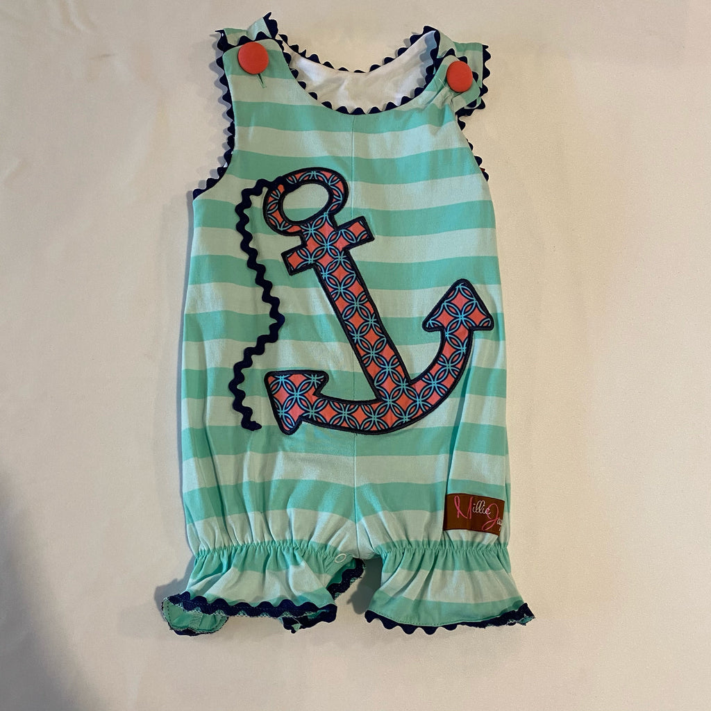 Millie Jay Romper W/ Anchor
