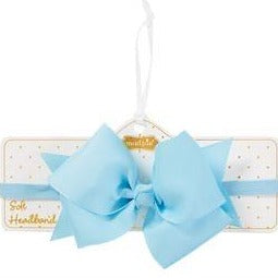 Light Blue Headband Mud Pie