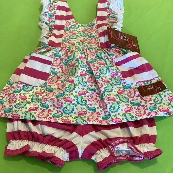 Millie Jay Paisley two peace infant set