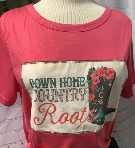 Roots T-shirt with boots