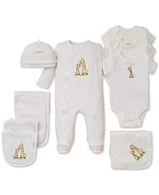 Little Me three pack body suit boys