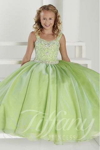 Mint Tiffany pageant dress