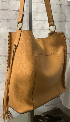 Camel Colored Handbag