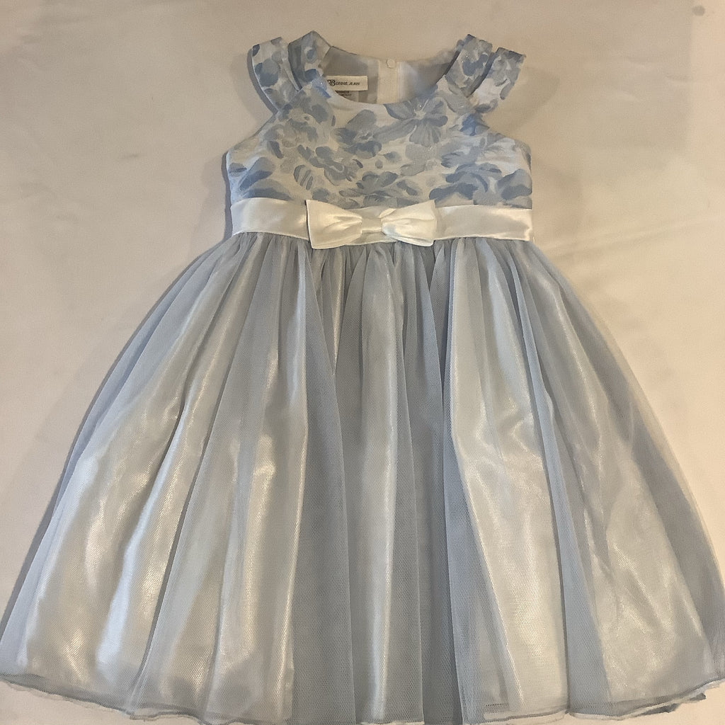 Bonnie Jean Lt Blue Tulle Dress