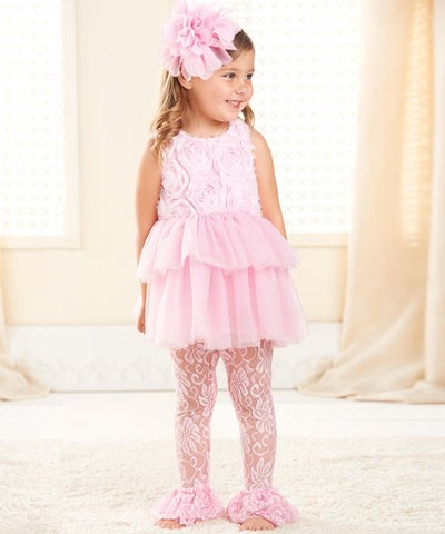 Mud Pie Pink Leggings