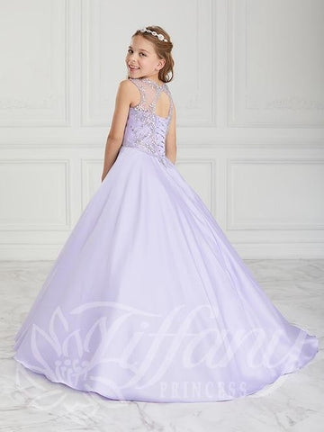 Tiffany Lilac pageant dress