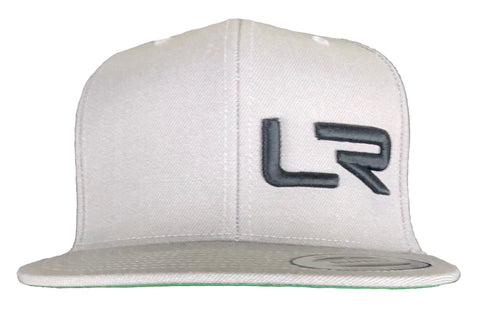 Gray LR Flat Bill hat