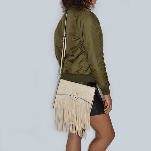 Fringe Fashion Messenger Bag