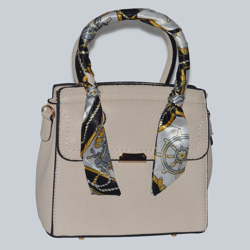 Mini Tote with Scarf HandBag