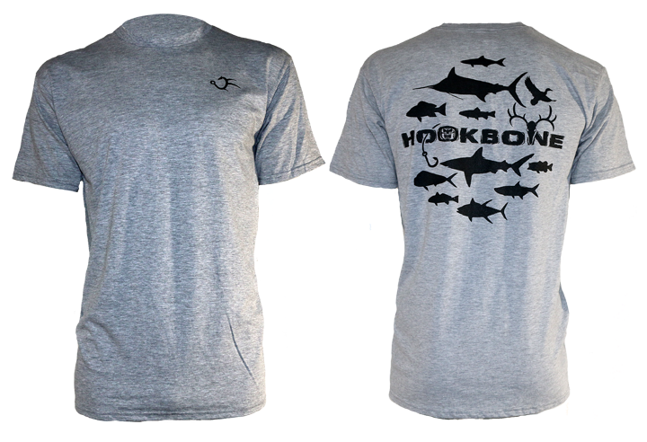 HOOKBONE 12 Design Short Sleeve Tee