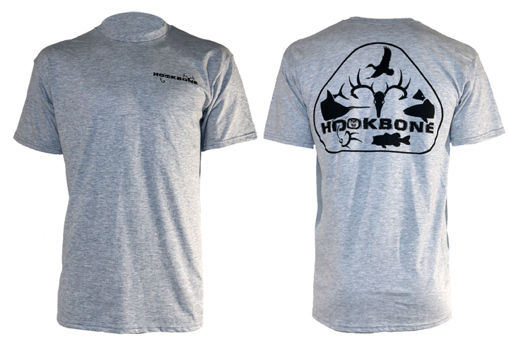 HOOKBONE Tri Design Short Sleeve Tee
