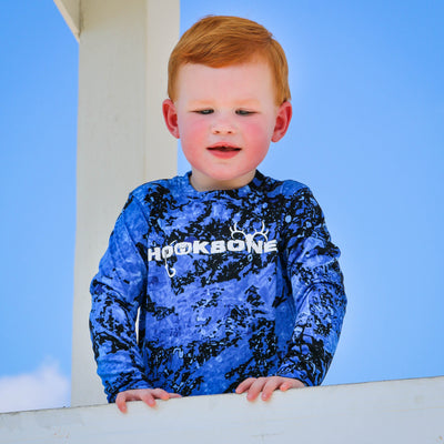 Toddler Long Sleeve HOOKBONE C2 Camo - HOOKBONE
