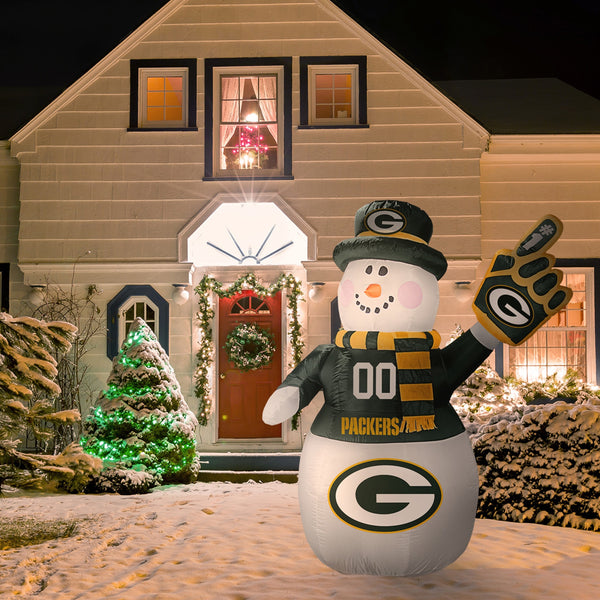 NFL Inflatable Snowman 7' - Fan Shop TODAY