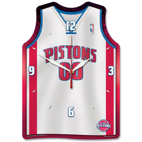 "Pistons NBA HD Wall Clock 13"" - Fan Shop TODAY"