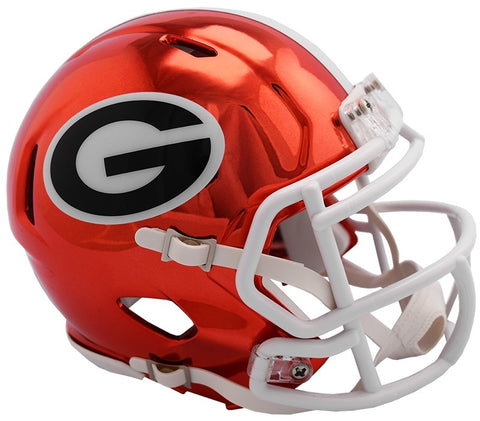 Georgia Bulldogs Riddell Chrome Alternative 2018 NCAA Helmet - Fan Shop TODAY