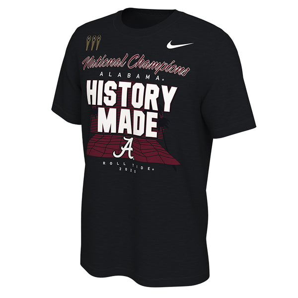 Alabama Crimson Tide 2020 National Champions Nike Locker Room T-Shirt - Fan Shop TODAY