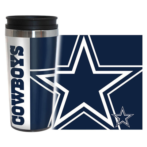 Cowboys NFL 16 oz. Hype Travel Tumbler - Fan Shop TODAY