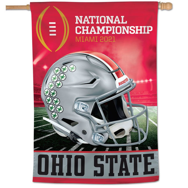 "Ohio State Buckeyes National Championship Flag 28"" x 40"" - Fan Shop TODAY"