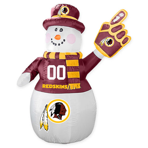 Washington Football Team NFL Inflatable Snowman 7' - Fan Shop TODAY