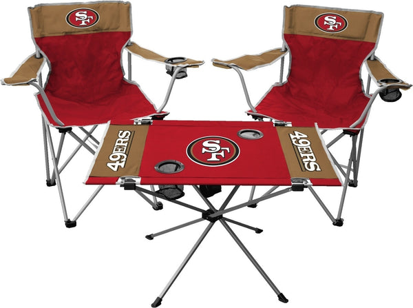 San Francisco 49ers Tailgate Kit (Rawlings) - Fan Shop TODAY