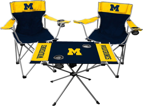 Michigan Wolverines Tailgate Kit - Rawlings - Fan Shop TODAY