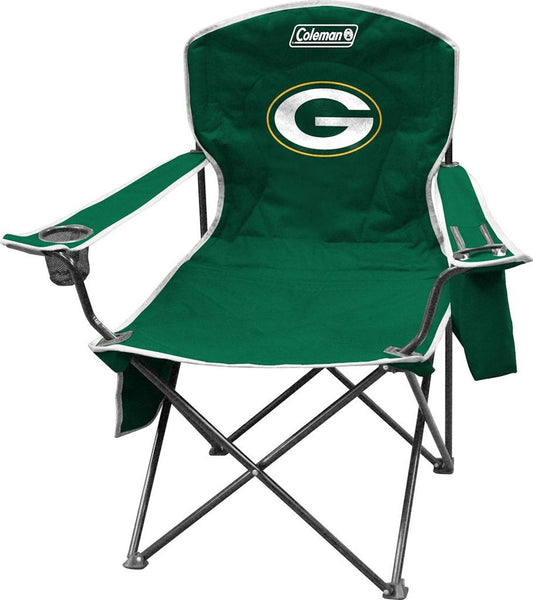 Packers NFL Coleman XL Cooler Quad Chair - Fan Shop TODAY
