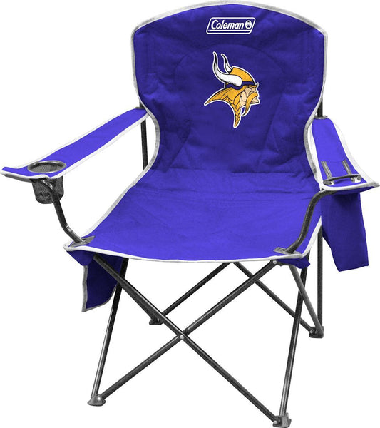 Minnesota Vikings XL Cooler Quad Chair Coleman - Fan Shop TODAY