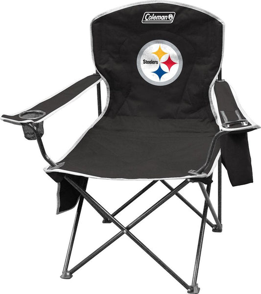 Steelers NFL Coleman XL Cooler Quad Chair - Fan Shop TODAY