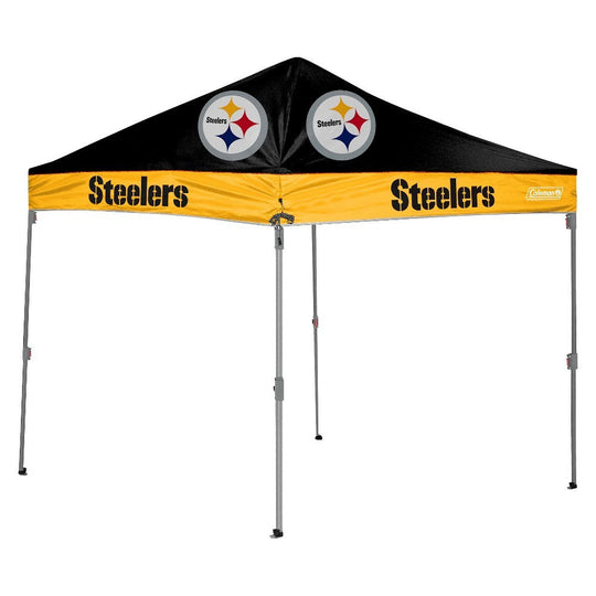 Pittsburgh Steelers NFL Coleman 10' x 10' Straight Leg Tailgate Canopy - Fan Shop TODAY