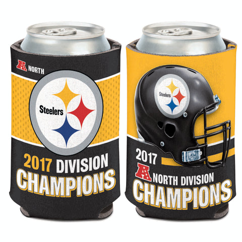 Pittsburgh Steelers 2017 Division Champions 12oz. Can Cooler - Fan Shop TODAY