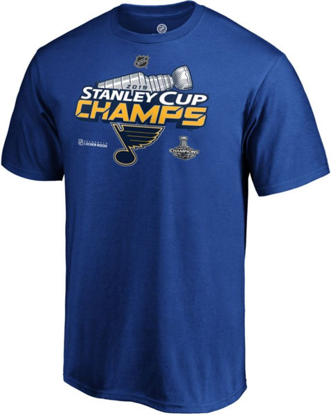 St. Louis Blues 2019 Stanley Cup Champions Locker Room T-Shirt - Fan Shop TODAY