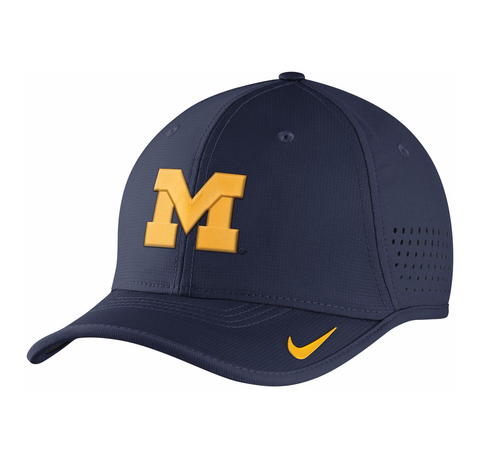 Wolverines NCAA Nike Men's Vapor Sideline Coaches Hat - Fan Shop TODAY