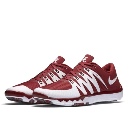 e1fdade04965 Alabama Crimson Tide Nike Free Trainer 5.0 V6 AMP Shoes - Fan Shop TODAY