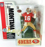 San Francisco 49ers Joe Montana NFL Legends Series 2 McFarlane - Fan Shop TODAY