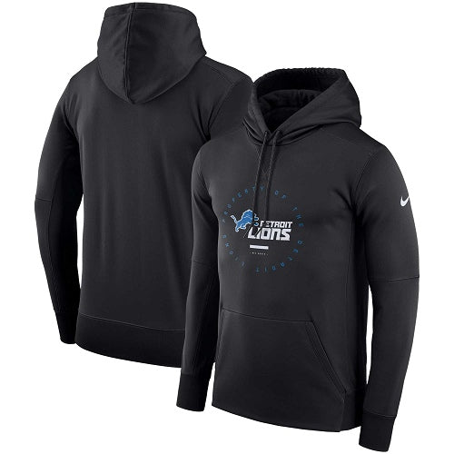 Detroit Lions NFL Nike Therma-Fit Pullover Hoodie Sweatshirt - Fan Shop TODAY