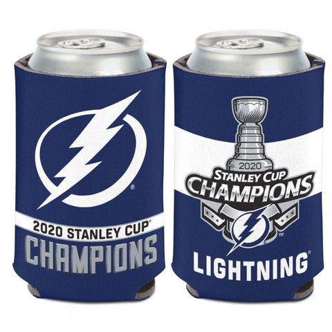 Tampa Bay Lightning 2020 Stanley Cup Champions Can Cooler 12oz. - Fan Shop TODAY