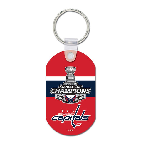 Washington Capitals 2018 NHL Stanley Cup Champions Metal Key Ring - Fan Shop TODAY