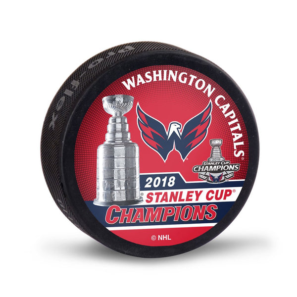 Washington Capitals 2018 NHL Stanley CUP Champions Hockey Puck - Fan Shop TODAY