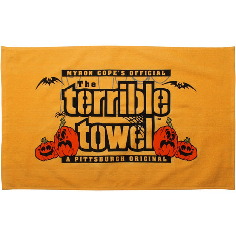 Pittsburgh Steelers NFL MYRON COPE'S Halloween Terrible Towel - Fan Shop TODAY