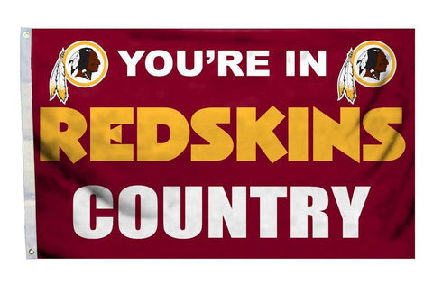 Washington NFL Flag Redskins Country 3'×5' - Fan Shop TODAY
