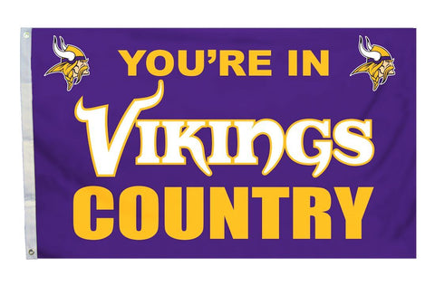 Minnesota Vikings NFL Flag 3'×5' - Fan Shop TODAY