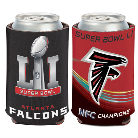 "Falcons NFL Super Bowl Bound Can Cooler ""NFC Champions"" - Fan Shop TODAY"