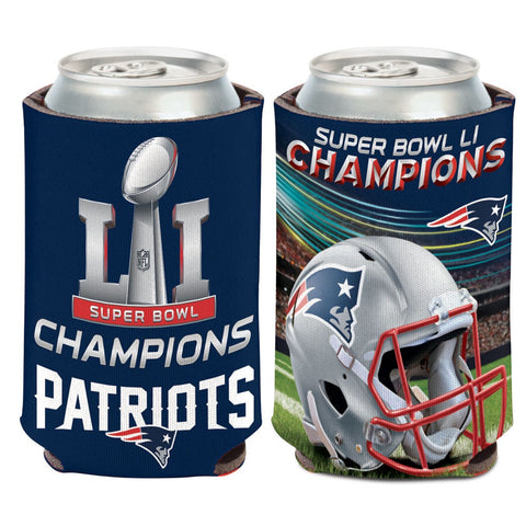 Patriots NFL Super Bowl LI Champions Can Cooler 12oz. - Fan Shop TODAY