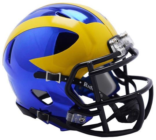 Michigan Wolverines Riddell Chrome Alternative 2018 NCAA Helmet - Fan Shop TODAY