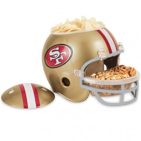 San Francisco 49ers Snack Helmet - Fan Shop TODAY