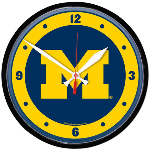 Wolverines NCAA Wall Clock - Fan Shop TODAY
